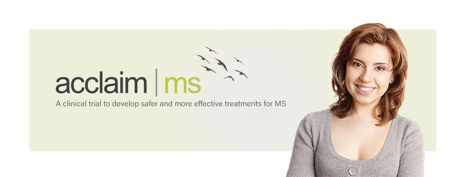 A clinical trial for relapsing-remitting multiple sclerosis